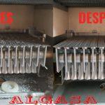 Limpieza de una caldera de gas