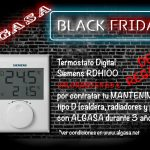 Oferta Black Friday: Termostato Digital Siemens Gratis!!!